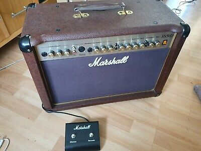 Marshall AS50D 50W Acoustic Guitar Amplifier • 130£