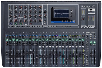Soundcraft Si Impact 40-Channel Digital Mixer Console With Remote Ipad Control • 2,790.08£