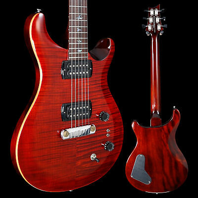 PRS Paul Reed Smith SE Paul's Guitar W/ Bag, Fire Red 143 6lbs 3oz • 749.72£