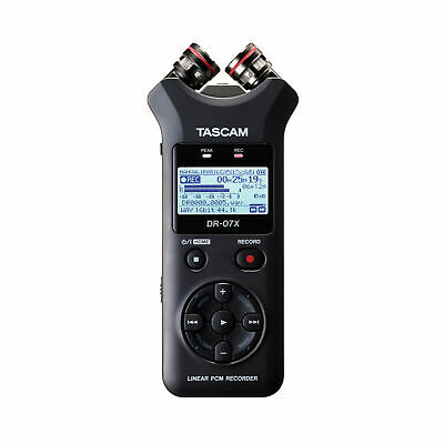 Tascam DR-07X Stereo Handheld Digital Audio Recorder / USB Audio Interface DR07X • 93.04£