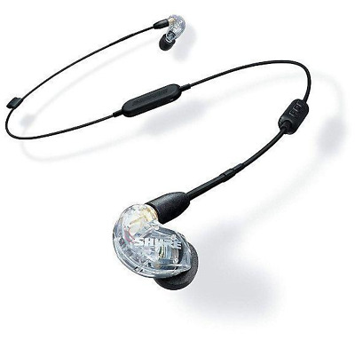 Shure SE215 BT Earphones Sound Isolating BLUETOOTH Clear - Used • 129.19£