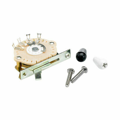 Fender 5 Way Stratocaster Pickup Selector Lever Switch With Knobs • 13.90£
