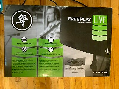 Mackie FreePlay Live Bluetooth Personal PA System • 200.40£