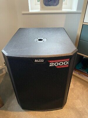 Alto TS318S 18in. 2000W Active Powered Subwoofer • 410£