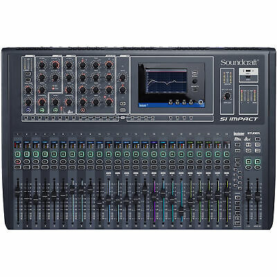 Soundcraft Si Impact 40 Input Digital Mixing Console And 32-in/32-out Interface • 1,957.88£