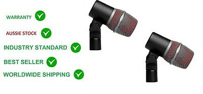 2x SE ELECTRONICS V BEAT microphone Snare Tom drum recording or live mic