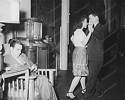 Couple Dance To Seeburg Hi Tone Jukebox Music Vintage 8x10 Reprint Of Old Photo • 14.27£