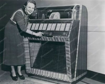 Seeburg 100 Jukebox 1950s 8x10 Reprint Of Old Photo • 14.27£
