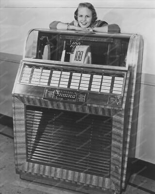 Seeburg Select-O-Matic 100 Jukebox 1950s 8x10 Reprint Of Old Photo • 14.27£