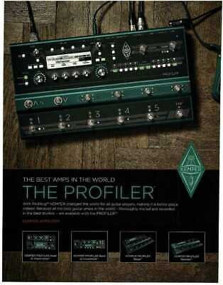 2019 KEMPER Profiler Stage Magazine Ad • 7.20£