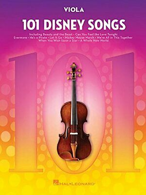 101 Disney Songs: Viola, Paperback,  By Hal Leonard Publishing Corporation • 14.01£