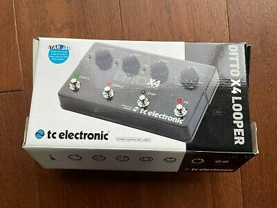 TC Electronic Ditto X4 Looper • 130£