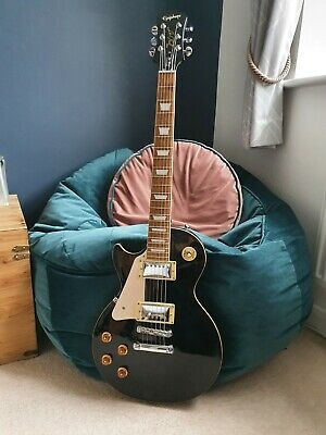 EPIPHONE Les Paul Standard Ebony, Left-handed + Free Accessories & Extras • 165£