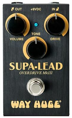 Way Huge Smalls Supa-Lead Overdrive MkIII Guitar Effects Pedal, NEW! #WM31 • 93.02£