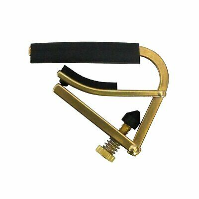 Shubb C1B Steel String Acoustic And Electric Guitar Capo, Brass • 26.99£