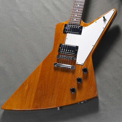 Electric Guitar Gibson Explorer Antique Natural Mahogany Body Fret 70% USED • 1,272.74£