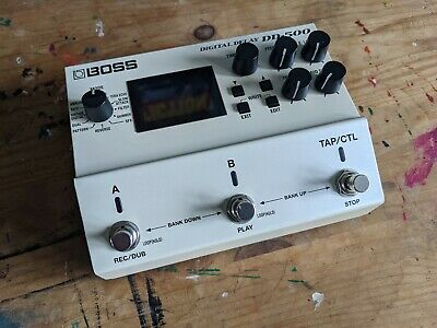 Boss DD-500 Digital Delay Pedal • 175£