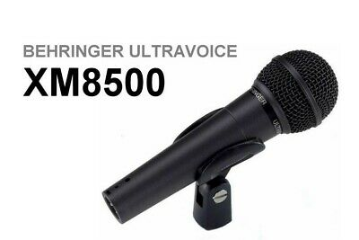 Behringer XM8500 Ultravoice Dynamic Cardioid Vocal Microphone • 14.20£