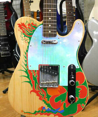 FENDER Electric Guitar JIMMY PAGE TELE RW NAT #5418 • 1,624.23£