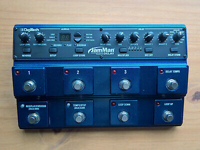 DigiTech JamMan Delay (Stereo Looping Station/Looper With Delay) + 16GB SD + USB • 267.85£