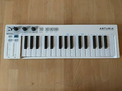 Arturia Keystep MIDI Keyboard And Sequencer, White • 84£