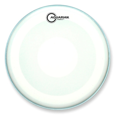 Aquarian Texture Coated Studio-X with Power Dot Drum Heads