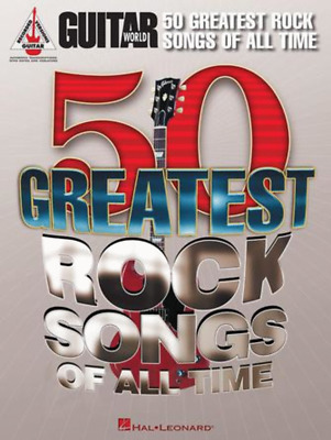 Guitar World's 50 Greatest Rock Songs Of All Time • 28.39£