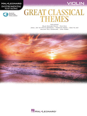 Great Classical Themes Violin • 9.25£