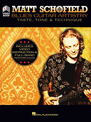 Matt Schofield - Blues Guitar Artistry: Taste, Tone & Technique Includes Video I • 21.45£