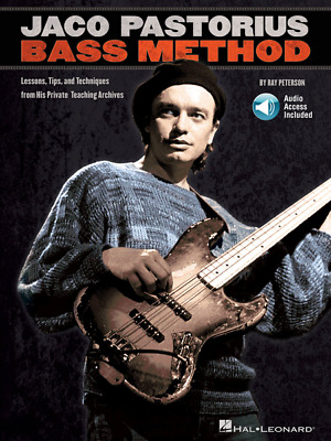 Jaco Pastorius Bass Method Lessons, Tips, And Techniques From His Private Teachi • 16.64£