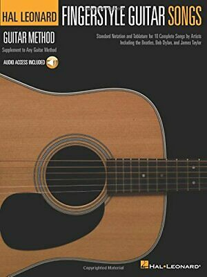 Hal Leonard Guitar Method: Fingerstyle Guitar Songs (Book/Online Audio), Paperb • 12.70£