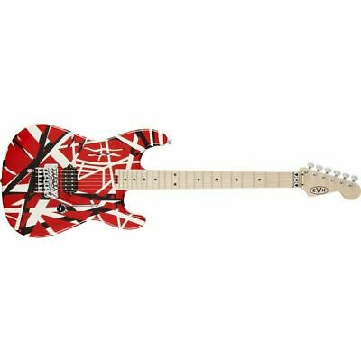 EVH: Striped Series Red With Black Stripes Electric Guitar • 1,250.27£