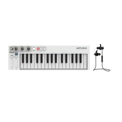Arturia KeyStep Compact 32 Note Sequencer/Controller W/ Force Audio Twin Earbuds • 108.64£