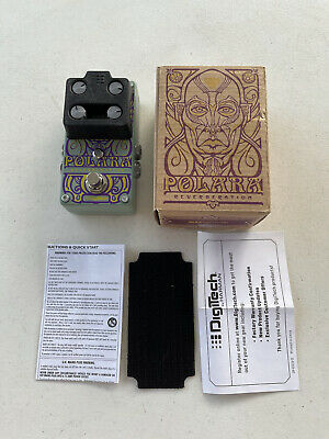 Digitech Polara Reverberation Stereo Digital Reverb Rare Guitar Effect Pedal • 143.99£