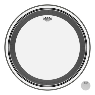 Remo Powerstroke Pro Bass Drum Heads - Clear