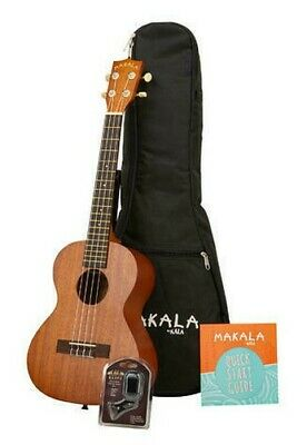 KALA Mk-T / Pack - Tenor Ukulele Pack, With Tuner & Bag Pouch