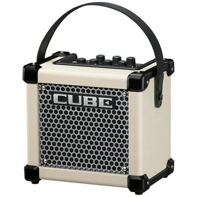 ROLAND Micro Cube GX WH IN White - Battery Guitars Combo
