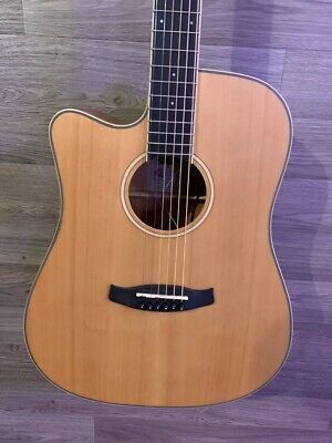 Tanglewood TW10E Dreadnought Cutaway Electro Acoustic Guitar + CASE LEFT HAND  • 239£