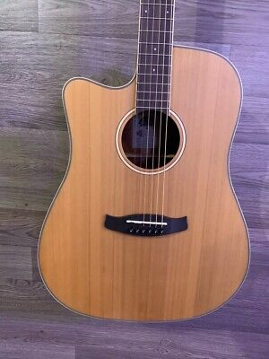 Tanglewood TW10E Dreadnought Cutaway Electro Acoustic Guitar + CASE L/ HAND #54 • 239£