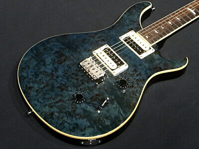 Outlet Prs Paul Reed Smith Se Custom24 Poplar Burl Wb Whale Blue • 1,285.92£