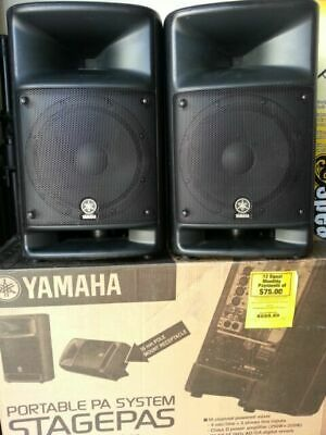 Yamaha Stagepas 600BT Portable PA System W/ Bluetooth & Reverb-equipped Mixer! • 652.61£