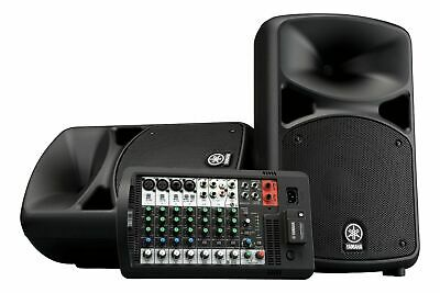 Yamaha Stagepas 600BT Portable PA System W/ Reverb-equipped 10-Channel Mixer! • 724.32£