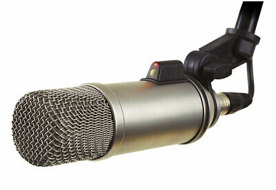Rode Broadcaster Large-diaphragm Broadcast Podcast Mic w/ On-Air Indicator Mint