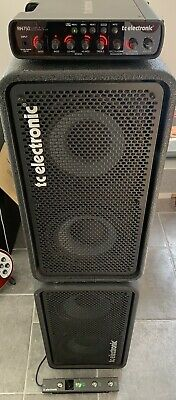 TC Electronic RH750 + Two X RS210 Cabs + RC4 Full Bass Rig - Covers & Leads Inc. • 900£
