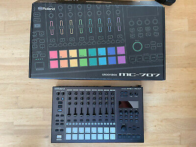 Roland MC707 Groovebox With Carry Case • 695£