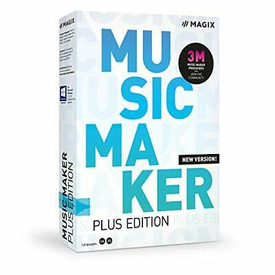 MAGIX Music Maker - 2020 Plus Edition - Produce Record And Mix Music • 39.06£