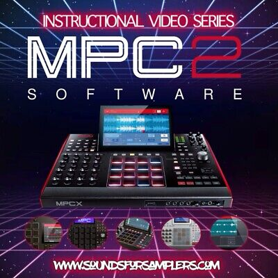 Akai MPC Software 2.6 Instructional DVD Tutorial (for MPC Live MPC Touch MPC X) • 29.74£