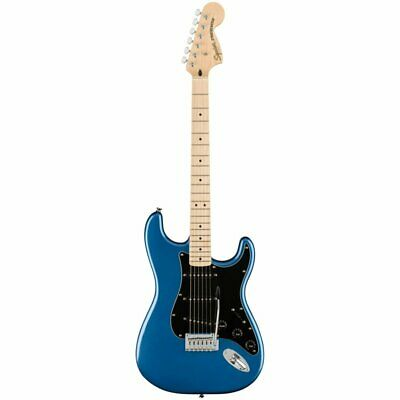 Fender Squier Affinity Stratocaster Electric Guitar, Lake Placid Blue