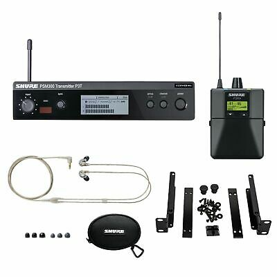 Shure P3TRA215CL PSM300 Wireless J13  Band Personal Monitor System With SE215-CL • 574.68£