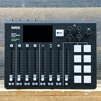 Rode Microphones RODECaster Pro Integrated Podcast Production Studio Console